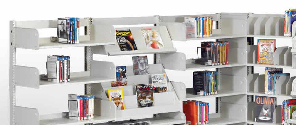 Steel Library Shelving & Accessories